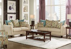 picture of Wilmington 7 Pc Living Room  from Living Room Sets Furniture