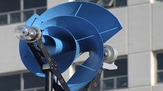 When they're standing out in a field, miles away from crowded urban centers, the sounds made by a wind turbine's blades aren't a big issue. But when they're perched atop a downtown building, they create noise pollution that's hard to ignore. A Rotterdam-based company might have found a solution, though, with a unique turbine design partially based on Archimedes' famous screw pump.