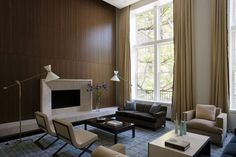 Upper East Side Apartment - contemporary - living room - new york - David Howell Design