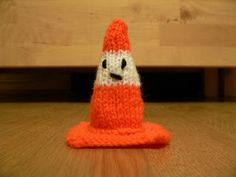little traffic cone