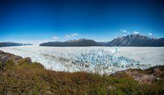 Giant glacier near Narsarsuaq