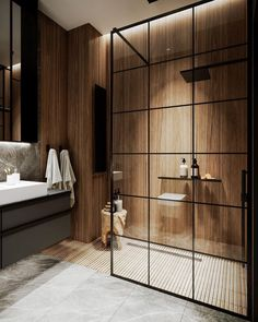 Home Interior Modern Bathroom Inspiration // Mint Lighting Design Bathroom Design Luxury, Modern Bathroom Design, Modern Interior Design, Bedroom Modern, Bathroom Designs, Minimal Bathroom, Modern Lighting Design, Interior Designing, Design Interiors