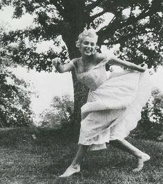 Marilyn Monroe Dancing Barefoot 1957 By Sam Shaw