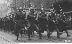 Górnośląska Brygada Obrony Narodowej Obchody Święta Niepodległości w Katowicach 11.11.1938 r.