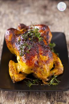 Cooking with Beer Recipes: Glazed Honey-Garlic Beer Can Chicken Beer Butt Chicken, Grilled Chicken Legs, Roasted Chicken, Roasted Turkey, Healthy Chicken, Beer Recipes, Grilling Recipes, Chicken Recipes, Cooking Recipes