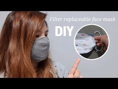 how to make a face mask / filters Creating replaceable face masks Diy Mask, Diy Face Mask, Face Masks, The Face, Pocket Pattern, Mask Making, Mask Design, Sewing Hacks, Filters