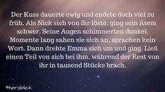 Zitat Herzblick | Nicole Neuberger Liebesroman | Buch | Lesen | Liebe