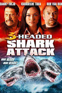 3 Headed Shark Attack (2015) Poster