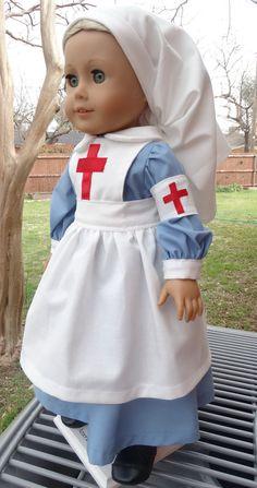 """Vintage 12"""" Character Doll * Nurse Nancy R.N. * Bradley Dolls ..."""
