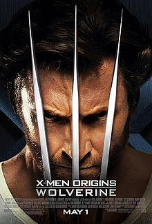 """A man with grizzly hair wearing a tank top shirt, with three metal claws in front of his face. Below his chin is the title """"X-Men Origins Wolverine"""", the film credits and the release date, May Wolverine 2009, Wolverine Poster, Wolverine Character, Superhero Movies, Marvel Movies, Love Movie, I Movie, Movie Sequels, Comics"""