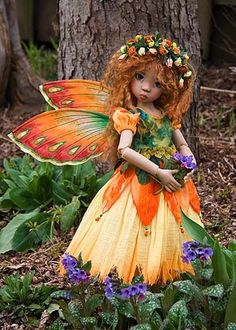 Marigold, a flower fairy
