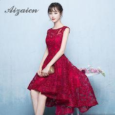 Nevěsta svatební Cheongsam červená 2017 Móda před dlouhou po krátké večerní  orientální šaty Čínské tradiční šaty b55444e232