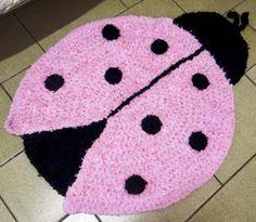 """""""Crochê da Mimi"""": Passo a Passo Tapetes de crochê para quarto infantil"""