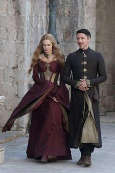 Cersei Lannister and Petyr Baelish   - HarpersBAZAAR.com