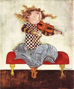 MUSEUM ART PRINT Oda a la Alegria Graciela Rodo Boulanger