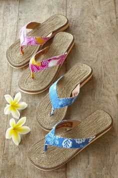 Beach Wahine - Designer Hawaiian Clothing, Jewelry, Swimwear and Accessories - Classic Island slippah, $44.00 (http://www.beachwahine.com/hawaii-designers/tropical-sole/classic-island-slippah/)