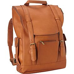 Classic Laptop Backpack Tan