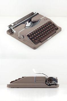 Vintage Gossen Tippa / seltene Elite Schriftart von ILikeToType