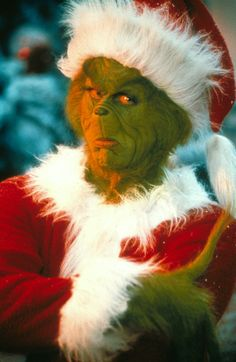 You're a mean one, Mr. Grinch...
