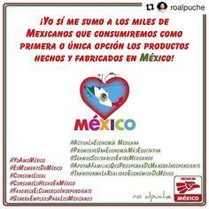 Y nosotros estamos muy comprometidos para atenderles de la mejor manera y fabricarles nuestros productos 100% mexicanos de calidad insuperable!  @roalpuche  Yo sí apuesto por México y me sumo a los miles de Mexicanos que consumiremos como primera o única opción los productos hechos y fabricados en México!  #YoAmoMéxico #ConsumeLocal #ConsumeLoHechoEnMéxico #GeneraEmpleosParaLosMexicanos #ActivaLaEconomíaMexicana #TransformaLaRealidadEconómicaDeMéxico  #RoAlpuche #FundaciónRoAlpuche #JustMe…