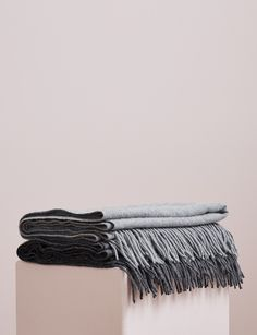 Abode Living - Clothing - Loungewear - Esra Cashmere Stole - Abode Living