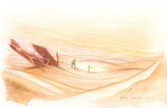 """24 Beautiful Sketches From """"The Little Prince"""" Movie"""