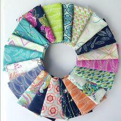 Bari J. Petal and Plume Fabric for Art Gallery Fabrics