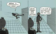 Abaixo o capitalismo, por Cesar Andrade.
