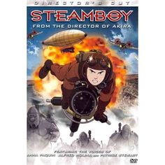 Rent Steamboy starring Anna Paquin and Alfred Molina on DVD and Blu-ray. Get unlimited DVD Movies & TV Shows delivered to your door with no late fees, ever. Anime Movies, Sony Pictures, Steampunk Movies, Animated Movies, Movies, Anime Films, Movies And Tv Shows, Film Review, Dvd