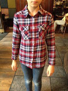 Cute check shirt