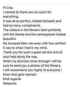 Another great start to the week - my team work hard and reviews like this make it all worthwhile  #teamsparkle #flowersandsparkle #sittingbourneflorist #weddingfloristkent #flowers #florist #kentflorist #kentbrides #2019bride