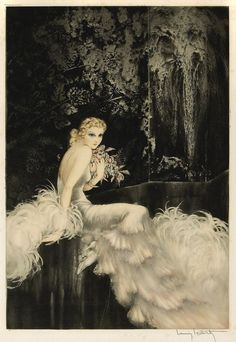 by Louis Icart
