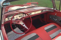 1958 CHEVROLET IMPALA CONVERTIBLE - Interior - 198857