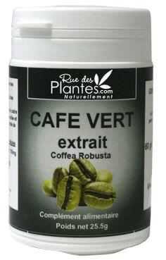 l'extrait de café vert est un nouvel allié minceur unique, fortement dosé en acides chlorogéniques… 60 gélules ou 120 gélules