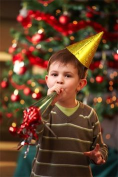Throwing a kid friendly new years eve party! Babbaco.com