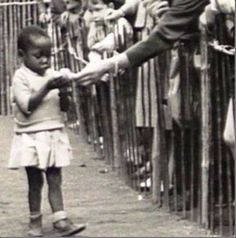 Deep Racism: The Forgotten History Of Human Zoos   Throughout the late 19th century, and well into the 1950′s, Africans and in some cases Native Americans, were kept as exhibits in zoos. Far from a relic from an unenlightened past, remnants of such exhibits have continued in Europe as late as the 2000′s. Above photograph is from Brussels, Belgium in 1958.