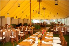 Blow your friends away with these awesome party tent lighting ideas for your next outdoor evening event! Give your guests the ambiance they deserve! Monticello Wine Trail, Tent Lighting, Outdoor Events, Vineyard Wedding, Wedding Venues, Table Decorations, Sperry, Weddings, Handmade