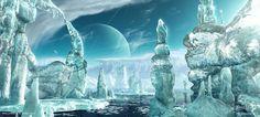 Ice World II by priteeboy.deviantart.com on @deviantART