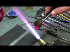 Click 'Visit' for All info on How to make Glass Cane Ribbon Lampworking Technique. You're Gonna LOVE this one!