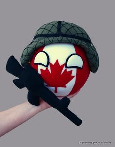 I've received a new custom request not long ago, Canadaball in the Army. So, here he is!