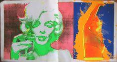 "Avant Garde March 1968 Marilyn Monroe ""Last Sitting"" Serigraphs by Bert Stern"