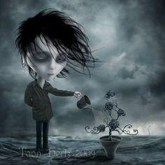 Toon Hertz creates digital and mixed illustrations of children, monster films, dark culture and surrealism. Gothic Fantasy Art, Dark Fantasy, Illustrations, Illustration Art, Mark Ryden, Dark Artwork, Goth Art, Dark Gothic, Pop Surrealism