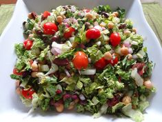 Mediterranean Crunch Salad Review: if you love chopped salads, this one is great. Same ingredients as a Greek but so much more flavor in every bite. *****