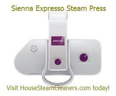 Sienna Expresso Steam Press 22 x 9 Inch, 1350 Watts - $199.99  This #steam #press #iron is six times larger than the normal ironing surface. Professionally press your wardrobe, bed linens, and more.  It reduces your ironing time up to 50%.  No chemicals are needed, just add water.  Learn more and visit our website.