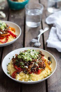 Easy Chicken Tamale Burrito Bowls | halfbakedharvest.com