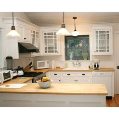 A bamboo counter-top can be installed without re-designing the whole kitchen!