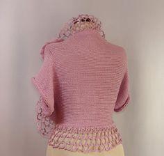 Color de la felicidad / Crochet Bolero punto Shrug por lilithist