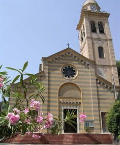 St Martin's church in Portofino, Italy