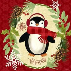 Christmas Critters-Penguin by Jennifer Brinley | Ruth Levison Design
