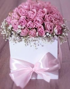 Happy Petals :for reservation and inquiries Birthday Wishes Flowers, Happy Birthday Flower, Birthday Bouquet, Happy Birthday Greetings, Beautiful Rose Flowers, Beautiful Flowers Wallpapers, Amazing Flowers, Pink Roses, Pink Flowers